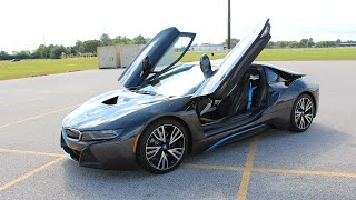 2014 2015 bmw i8 review in detail start up exhaust sound and test drive