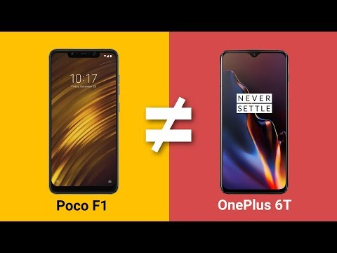 Poco F1 vs OnePlus 6T: We Did The Math!