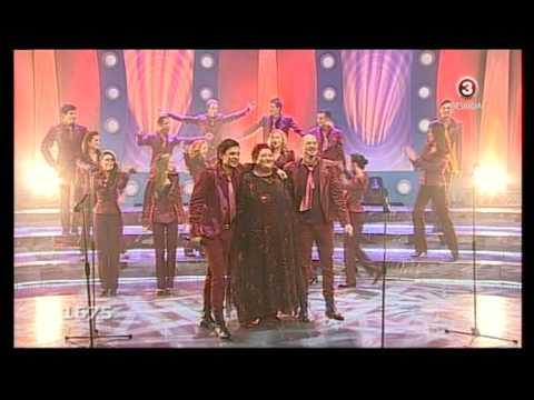 "Danguole Beinaryte su Kauno burgundiskuoju choru atlieka Freddie Mercury ""Barcelona"""