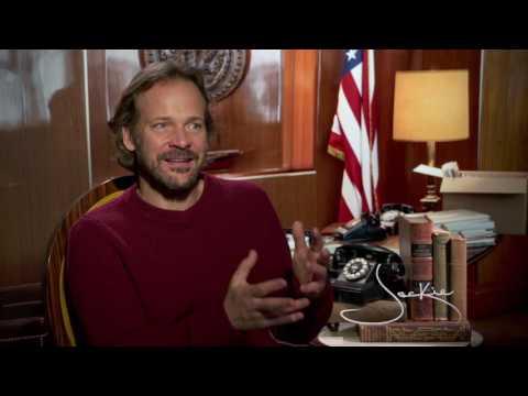 Jackie  Peter Sarsgaard interview