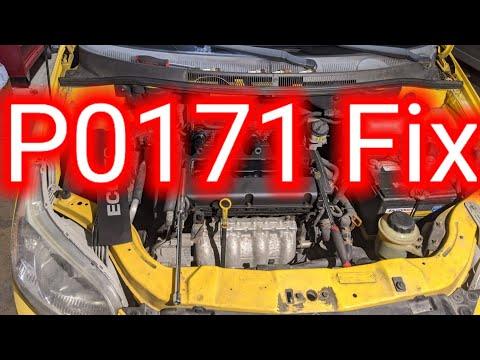 P0171 Fix Chevy Aveo