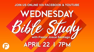 FFCC | Wednesday Bible Study | Online | April 22 2020