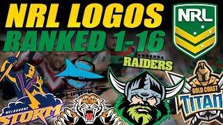 NRL Logos Ranked 1-16
