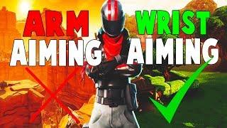 Arm Aiming VS Wrist Aiming - Fortnite Battle Royale