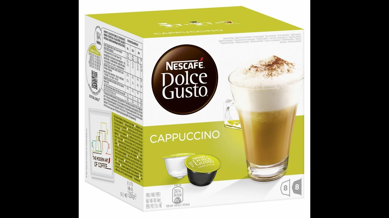 Krups Nescafe Dolce Gusto Circolo with 60 Capsules - YouTube