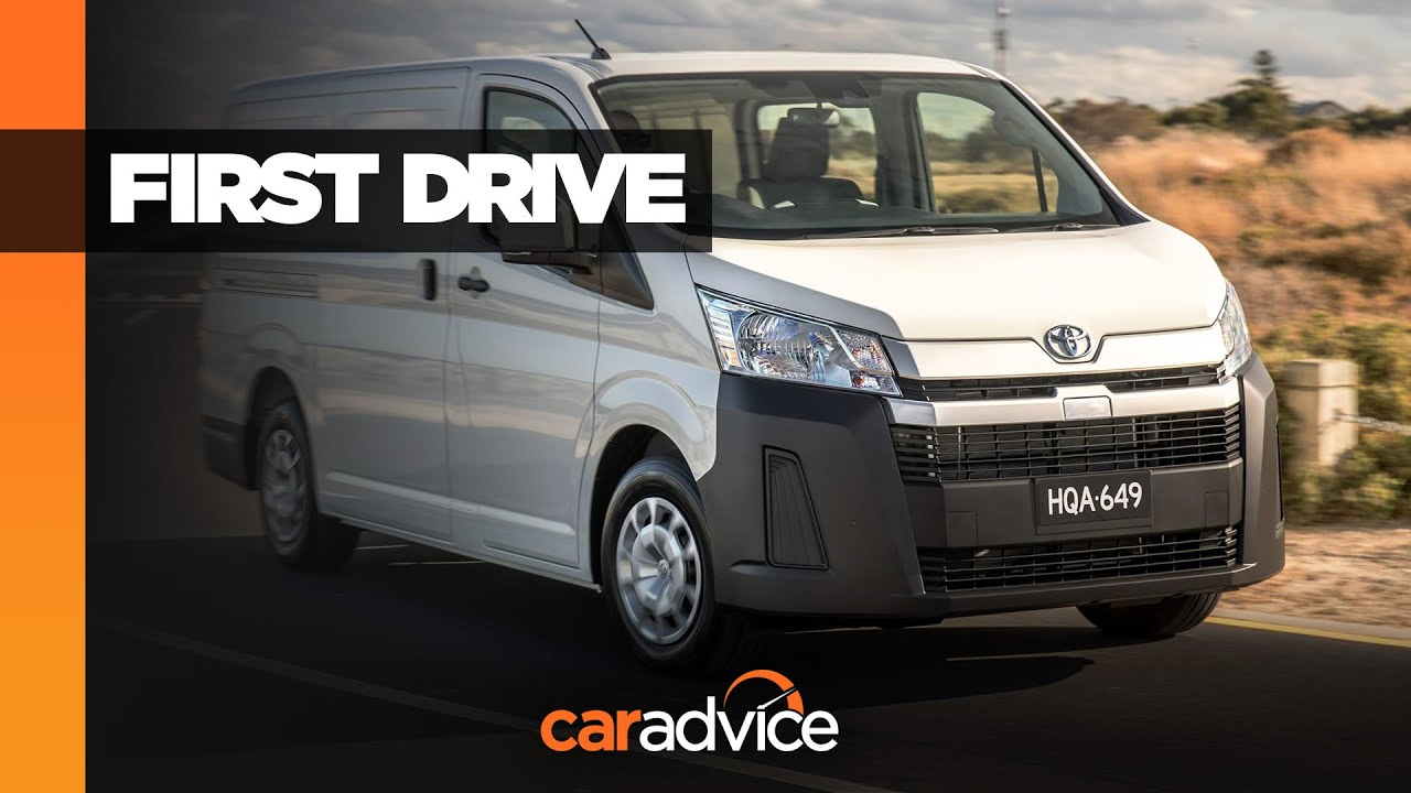 2019 toyota hiace quantum commuter review v6 petrol and hilux diesel engines all new design