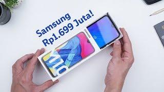 Rp1.699 Juta! Unboxing Samsung Galaxy M10!