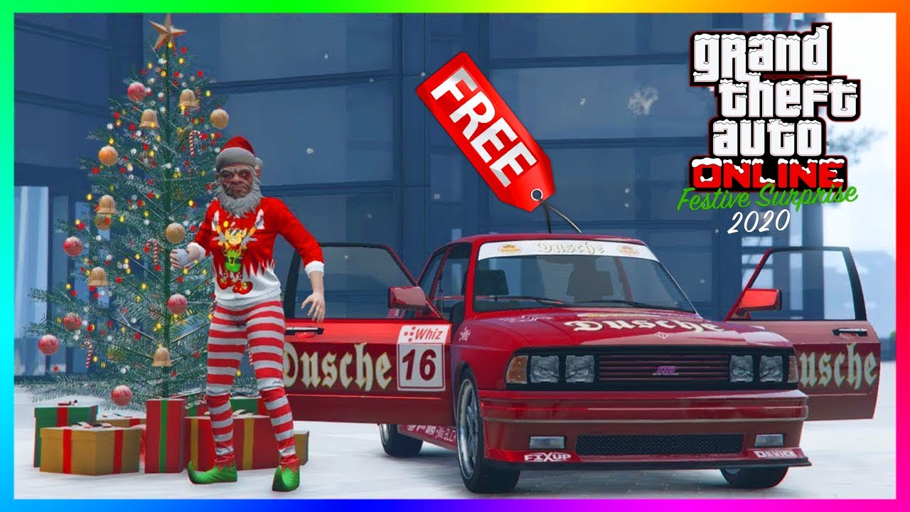 GTA 5 Online Festive Surprise 2020 DLC Update - MORE FREE CARS! NEW Vehicles, RARE Items & MORE!