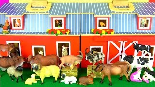 Learn Farm Animals Names - Kids Learning -  Children's Educational Toys