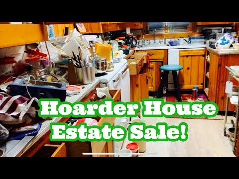 HOARDER HOUSE -Estate Sale :: Enter At Your Own Risk!! :: Shop With Me!!
