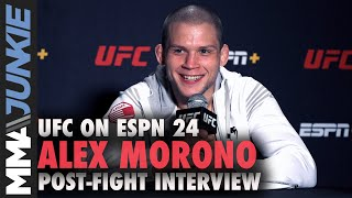 Alex Morono: Donald Cerrone shouldn't retire after loss | UFC on ESPN 24 interview