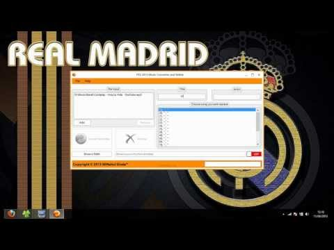 PES 2013 Music Converter and Relink by Ginda01