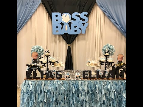 Boss Baby Decorations Youtube