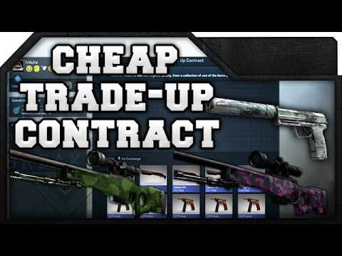 CsGo  Cheap Trade Up Contract  Awp Pit Viper Or Profit  Youtube