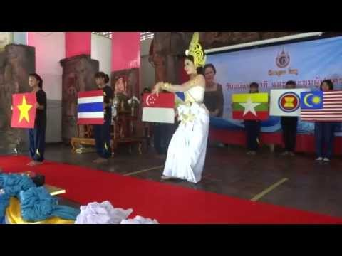"ASEAN's solidarity ""อาเซียนรักรวมใจ"""