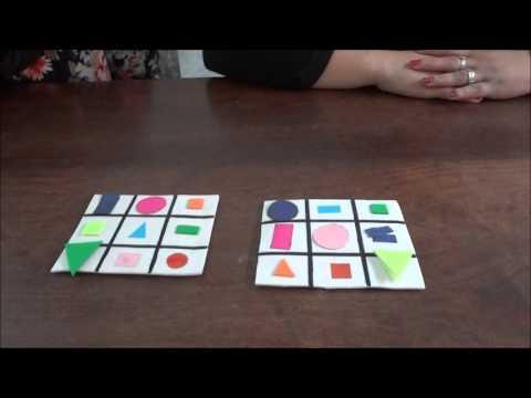 Juego de lotera con figuras geomtricas  YouTube