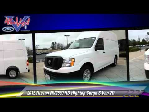 2012 nissan nv2500 hd hightop cargo s van morrow youtube. Black Bedroom Furniture Sets. Home Design Ideas