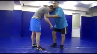 Приемы вольной борьбы (отработка приемов) freestyle wrestling training