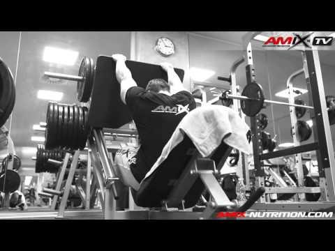 Milan Šádek: legs workout at Olympia Fitness Opatov