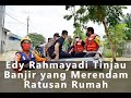 Edy Rahmayadi Tinjau Banjir yang Merendam Ratusan Rumah di Tebing Tinggi