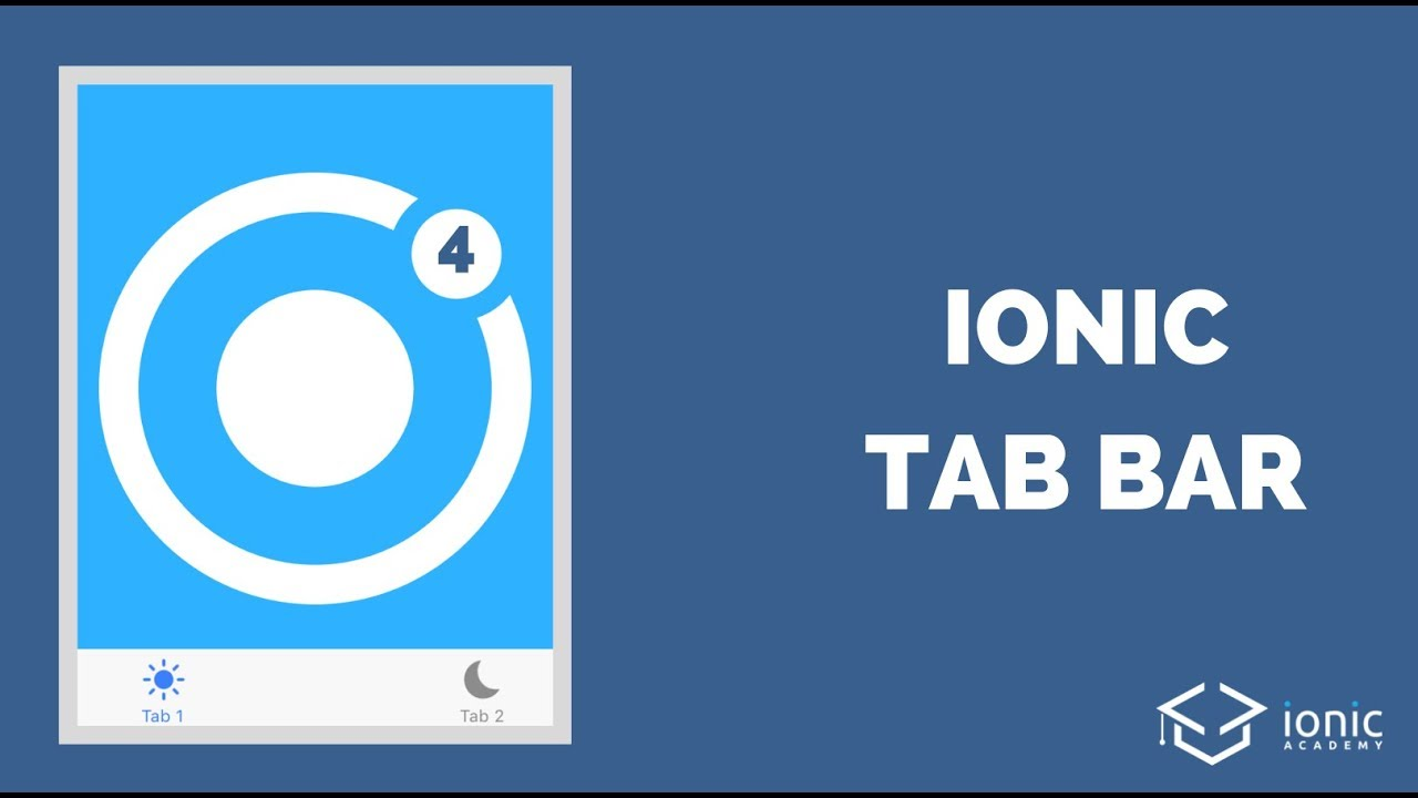 [DEPRECATED] How to Add A Tab Bar to Your Ionic 4 App