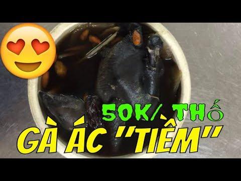 GÀ ÁC  TIỀM THUỐC BẮC [ĐỘC NHẤT] Guide Saigon Food  ĐƯỜNG LÊ ĐỨC THỌ