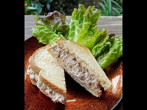 How to make a tuna sandwich youtube for How to make tuna fish sandwich