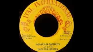 CARLTON JACKSON - History Of Captivity [1977]