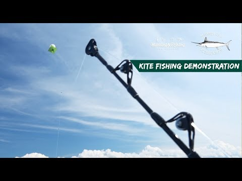 KITE FISHING DEMONSTRATION