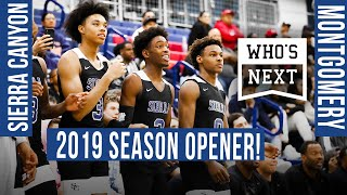 Sierra Canyon (CA) vs. Montgomery (CA) Basketball - ESPN Broadcast Highlights