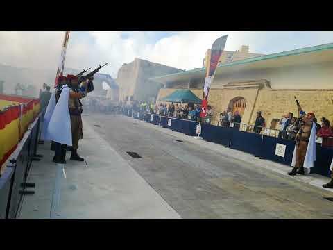 III Desafío de los 300 del Grupo de Regulares en Ceuta