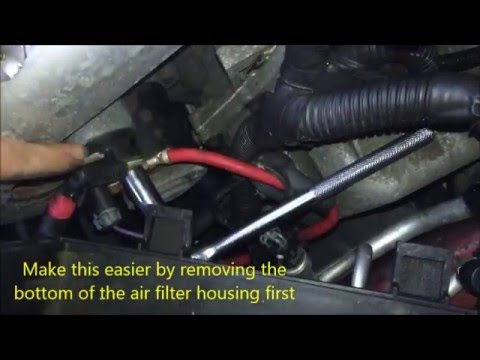 Gm Ls4 Starter Replacement Youtube