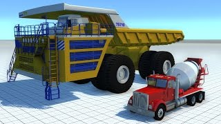 BeamNG Mod BELAZ 75710 Crushing Cars HD 60FPS