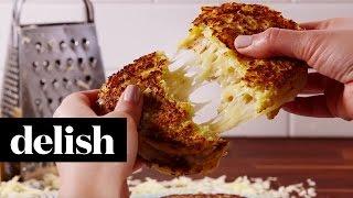 Cauliflower Grilled Cheese | Delish