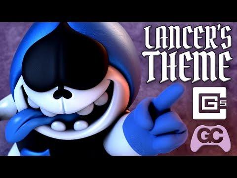 Deltarune ♠️ Lancer's Theme ~ CG5 Glitch Hop Remix!