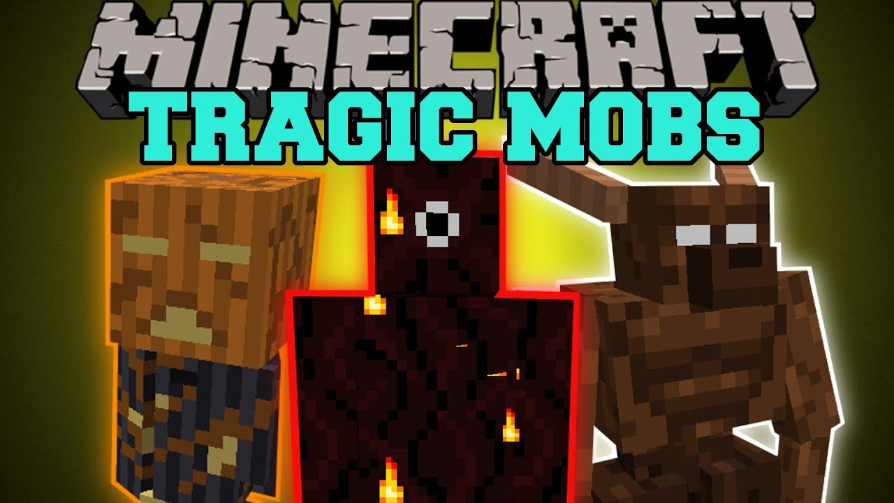 Minecraft Tragic Mobs Tons Of Challenging Mobs