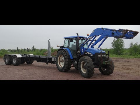 Agriculture Hook-Lift Trailer 44k