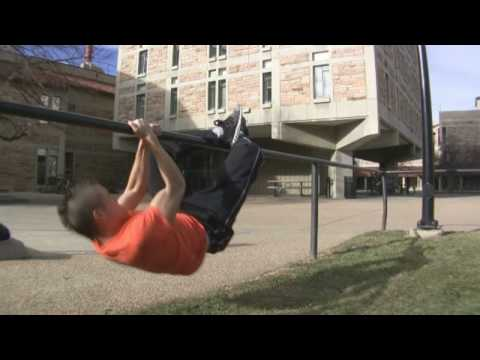 Urban Exercise Equipment - Rails - Parkour Training and Conditioning