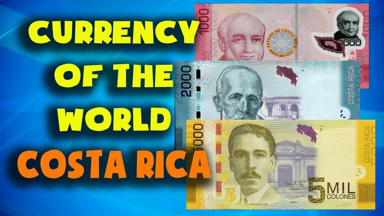 Costa Rica Rican Colon