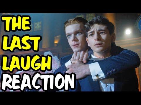 Nerds REACT to GOTHAM SEASON 2 EPISODE 3 The Last Laugh