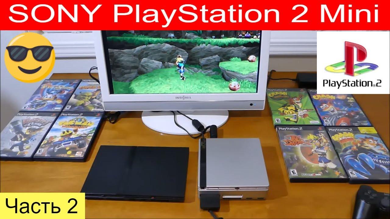 Эксклюзив! Моя самодельная SONY PlayStation 2 Mini . Супер Финальная версия завершена ...
