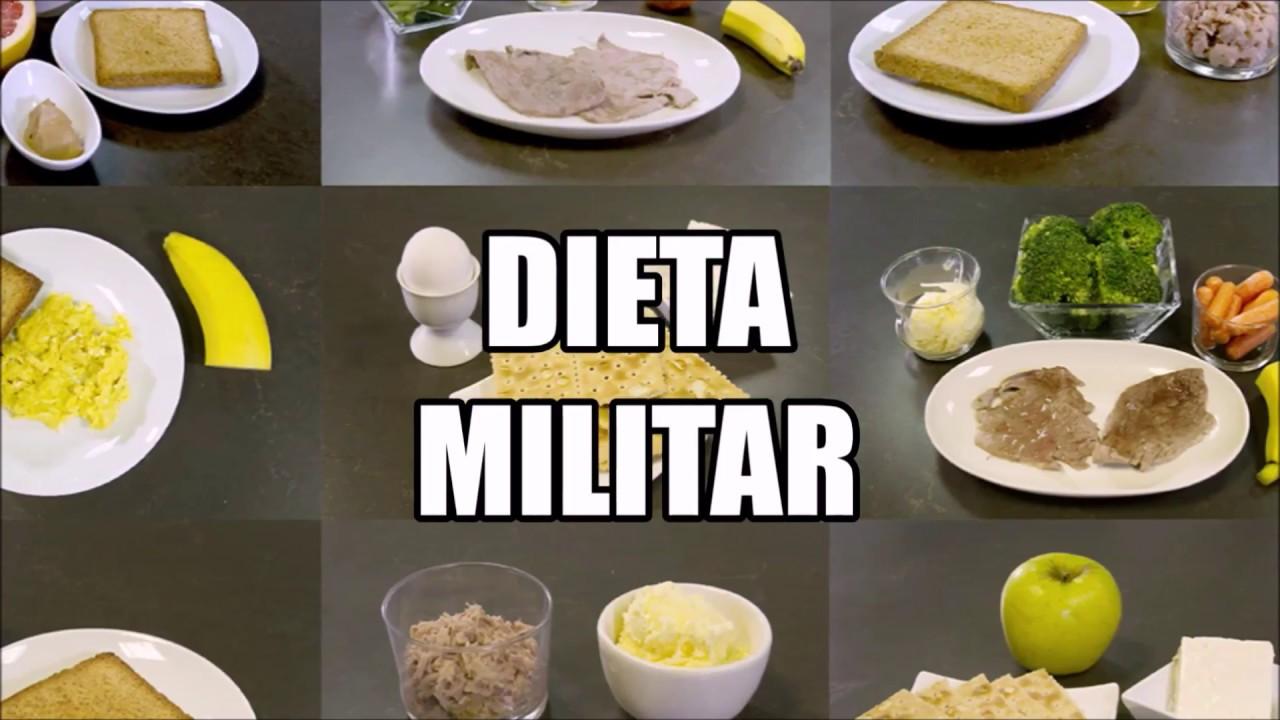 Dieta militar pierde 5 kilos en 3 dias