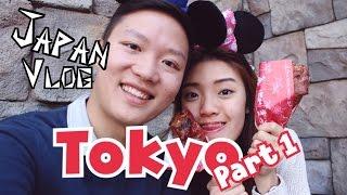 Japan Vlog: Tokyo Part 1 | Owl Cafe, Tsukiji Fish Market, Disneysea, Ueno Park & Takeshita Street
