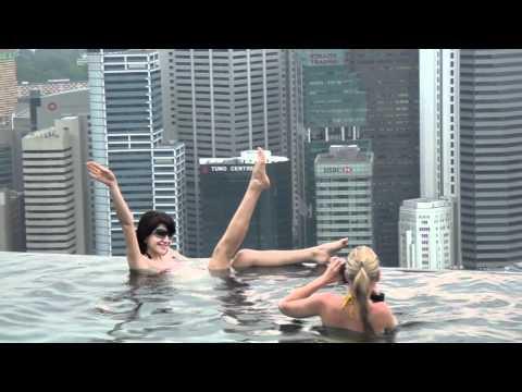 Singapore отель Marina Bay Sands - 2 часть