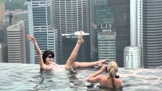 Singapore отель Marina Bay Sands - 2 часть(Отвечаю на вопрос: