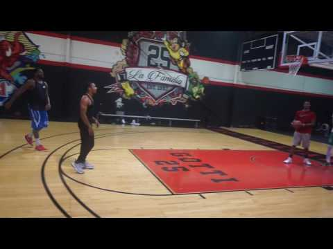 Phil Pressey & Alex Oriakhi Summer 16 workouts