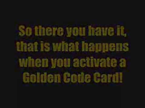 Club Penguin - Card Jitsu - Golden Code Card - Unlocked