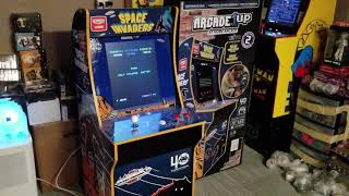 Arcade 1up Space Invaders review/gameplay!  With Galloping Ghost story!