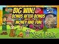 BIG WIN! BONUS AFTER BONUS!  NEW GAME YOGI BEAR