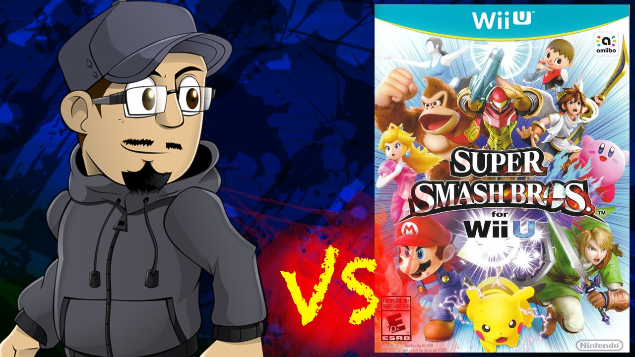 Johnny Vs The Super Smash Bros Series